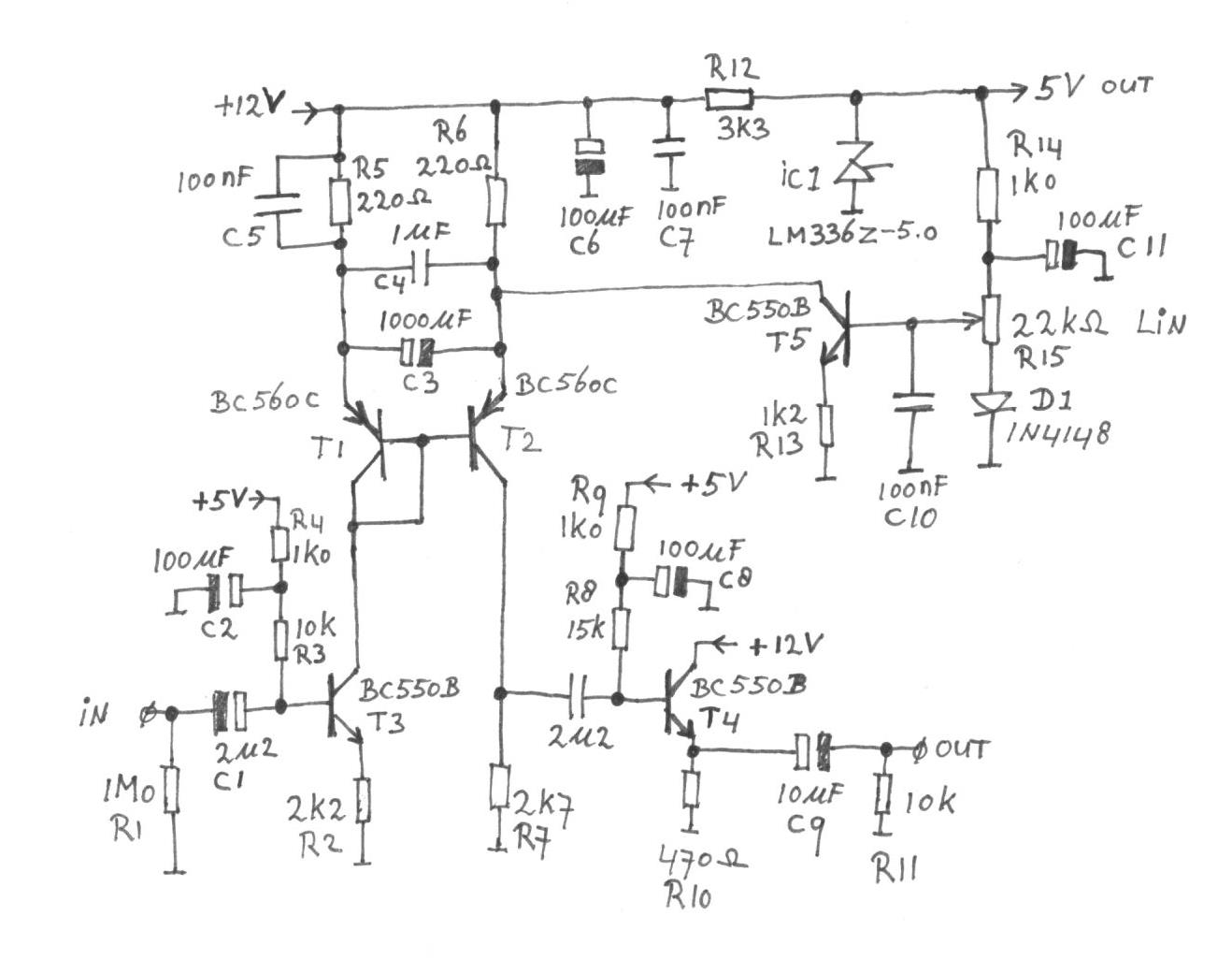 Current Mirror With Adjustable Gain Amplifier Schematic Diagram The Voltage Controlled Variable Figure 4 An Audio Attenuator A
