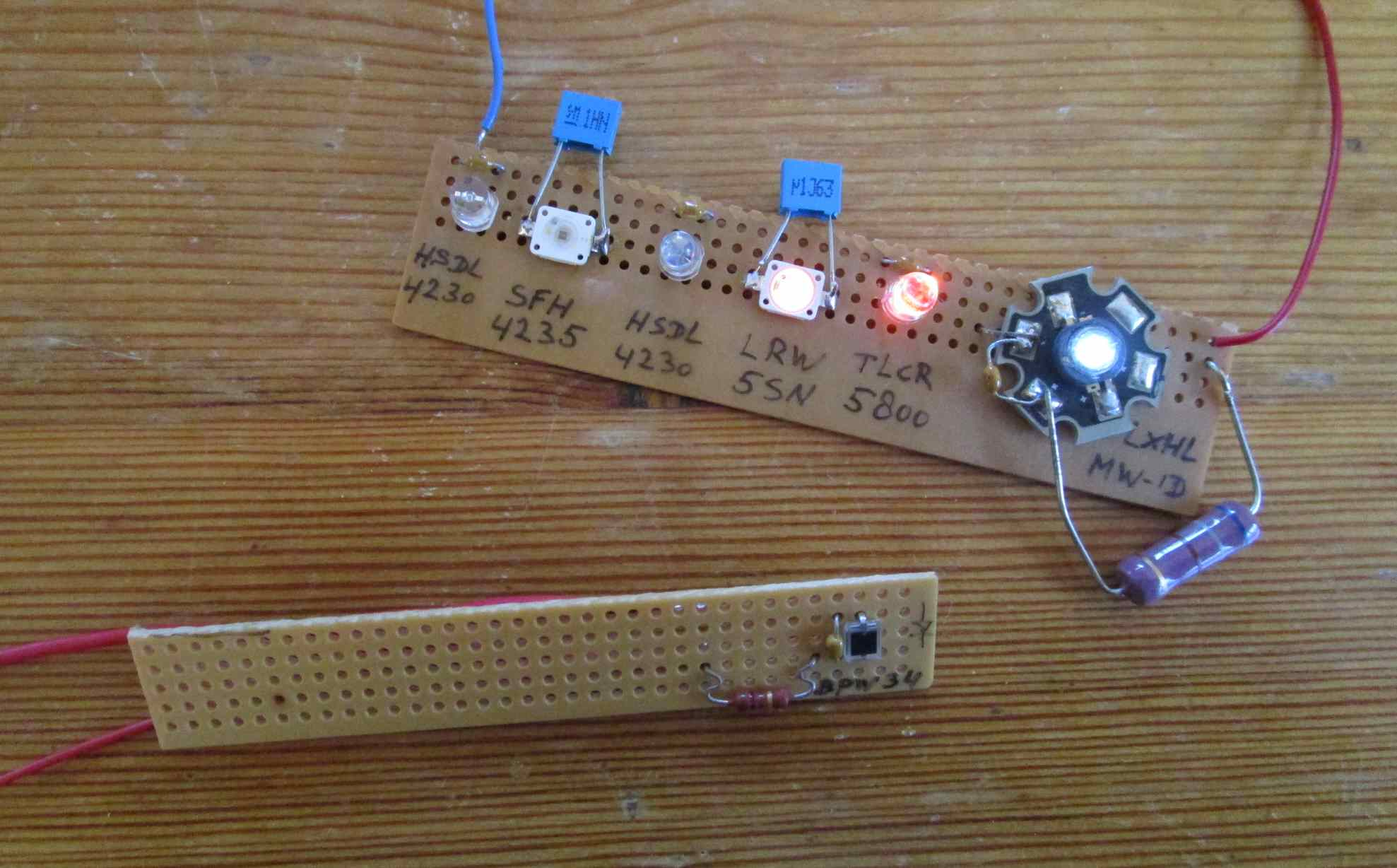Photodiode Circuit Board Best Secret Wiring Diagram Lightemitting Diode Ledandlightcircuit Amplifier With Led And Rh Dicks Website Eu Basic