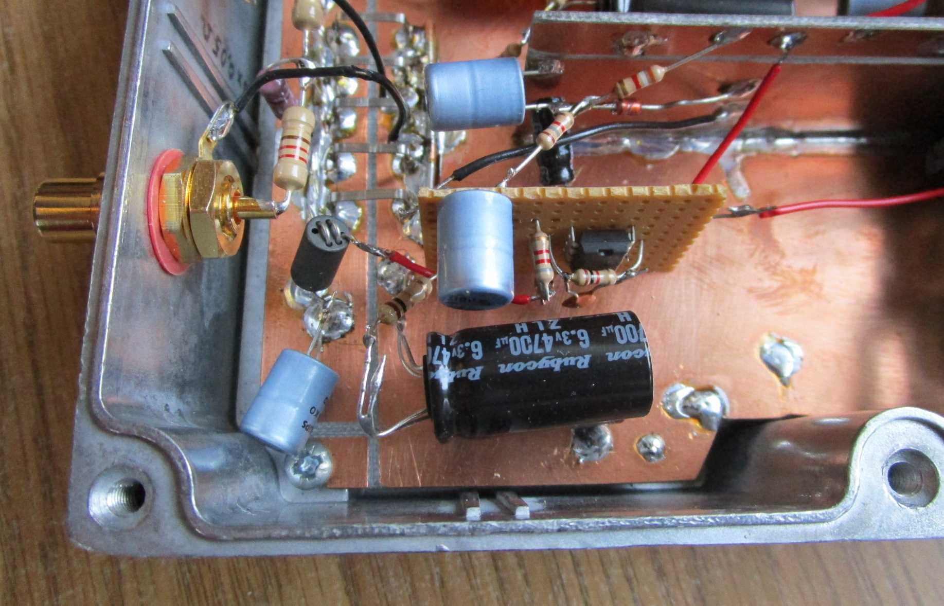 Ultra Low Noise Amplifiers Test Capacitor In Circuit My Setup This Is Prevented By Only Using Very Input Signals At 0 Volt Dc